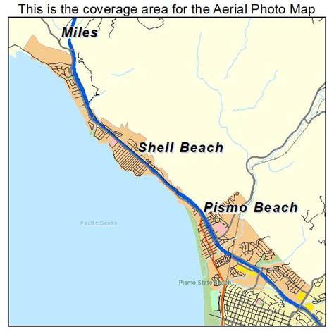 pismo california map aerial photography map of pismo ca california