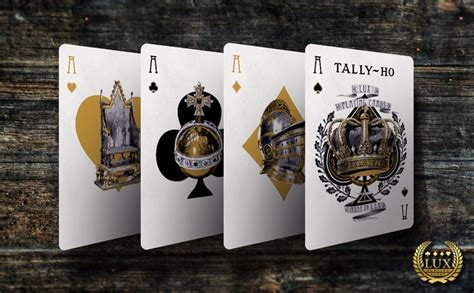Sale Tally Ho Liniod Finish No 9 Black Card Import America monarchy tally ho cards printed by uspcc by cards kickstarter