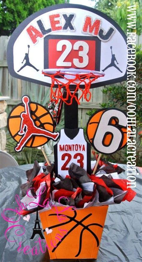 basketball centerpiece basketball