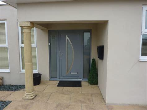 Aluminium Front Door Installation In Torquay Devon Modern Aluminium Front Doors