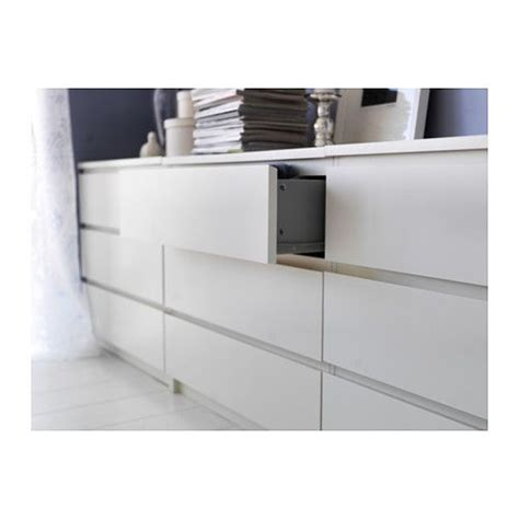 Kommode Malm by Malm Kommode Mit 3 Schubladen Wei 223 Malm Drawers And