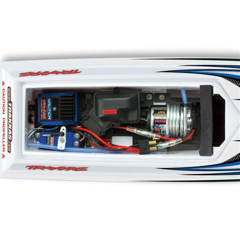 traxxas rc boat racing traxxas 38104 blast rc racing boat at hobby warehouse