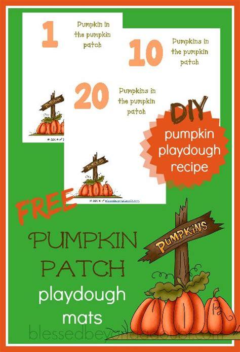 children  fun    pumpkin patch playdough mats      awesome