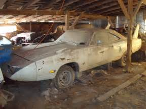 barn finds cars epic barn find in midwest superbird talladega charger