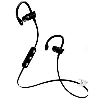 Headset Untuk Lari power sport bluetooth earphone with microphone ms b7 black jakartanotebook