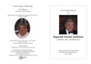 order of service funeral template craig barrett order of service