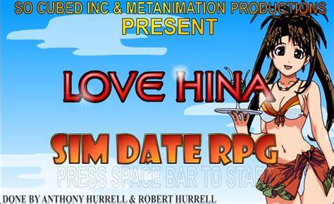 Date hina love rpg sim through walk