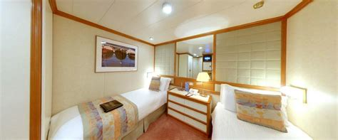 P And O Oceana Cabins by Accommodation On Board Oceana P O Cruises