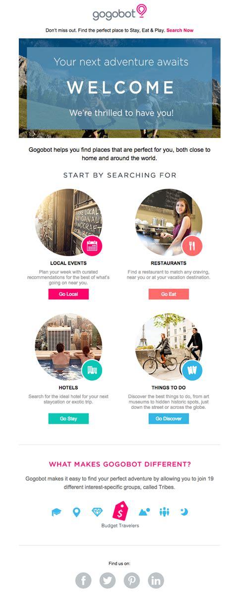 design inspiration travel newsletters email design