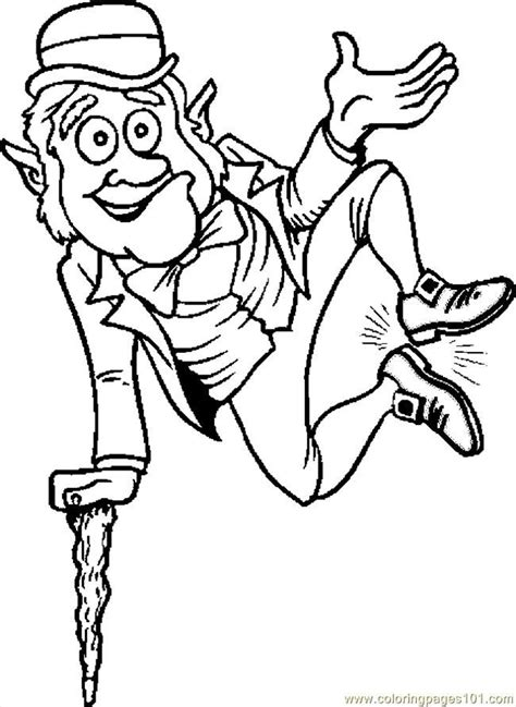 Leprechaun Color Pages Az Coloring Pages Leprechaun Coloring Pages Free
