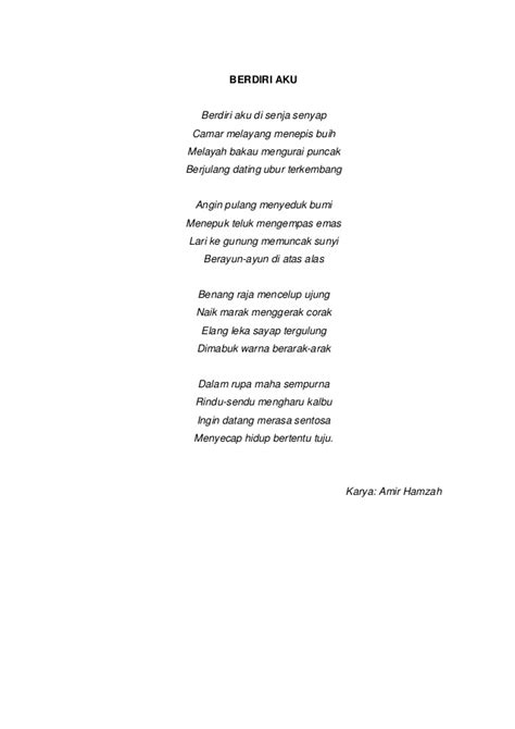 Jelita Senandung Hidup Kumpulan Puisi kumpulan puisi dan unsur intrinsiknya