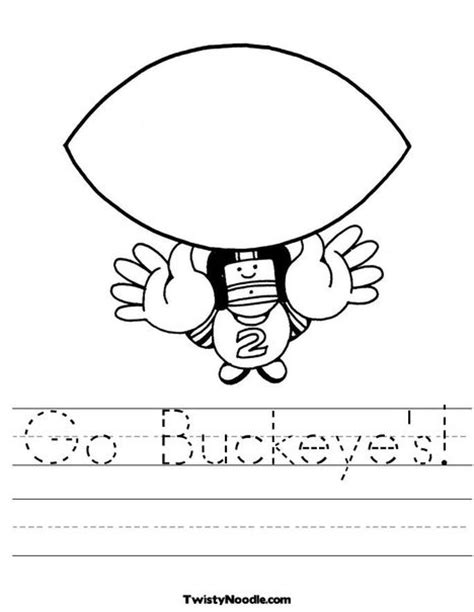 Ohio State Coloring Page Ohio State Buckeyes Pinterest Ohio State Coloring Pages
