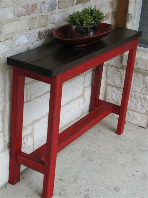 Tables For Entrance Ways Rustic Sofa Table Console Table Entry Way Table With