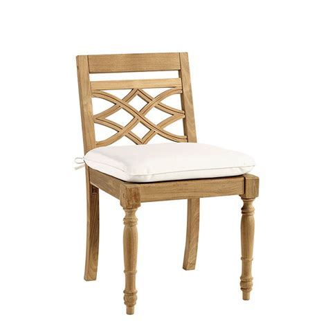 Ballard Design Dining Chairs Ceylon Teak Dining Side Chair Ballard Designs