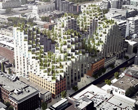 White Space Planner bjarke ingels group s king street vision detailed at