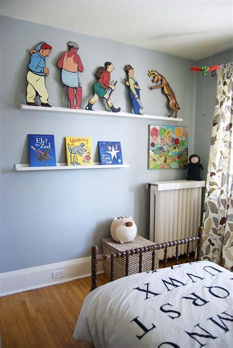 kids wall shelves bedrooms wicked weird cam s new quot vintage quot big boy room