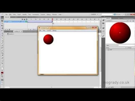 tutorial flash motion guide adobe flash cs5 using a motion guide with a classic tween