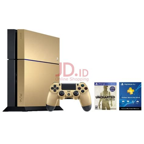 Sony Playstation 4 Ps4 Free Uncharted harga limited edition ps4 ps4 gold edition bundle free