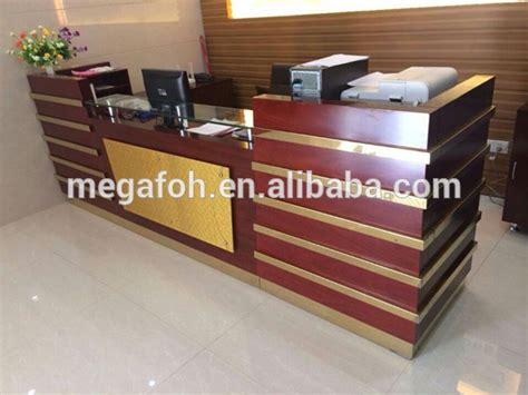 Luxury Reception Desk Newest Luxury Design Office Reception Desk Front Counter Foh Rcw32 Buy Office Front Counter