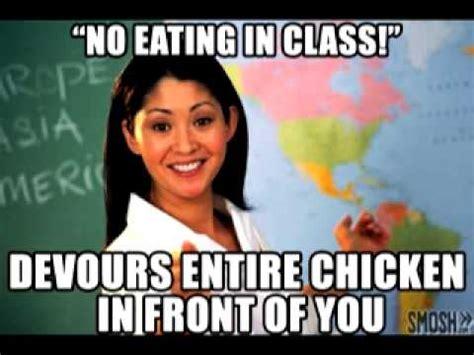 Unhelpful Teacher Meme - unhelpful teacher meme youtube