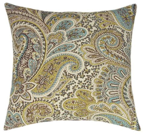 paisley sofa pillows chocolate paisley sofa pillow accent pillow couch pillow