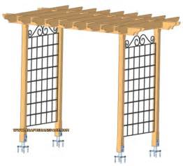 Trellis Design Plans by Garden Arbor Plans