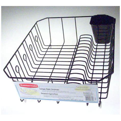 Large Dish Rack by Rubbermaid Large Dish Drainer Reviews Wayfair