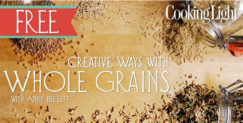 cooking with whole grains free course cooking with whole grains
