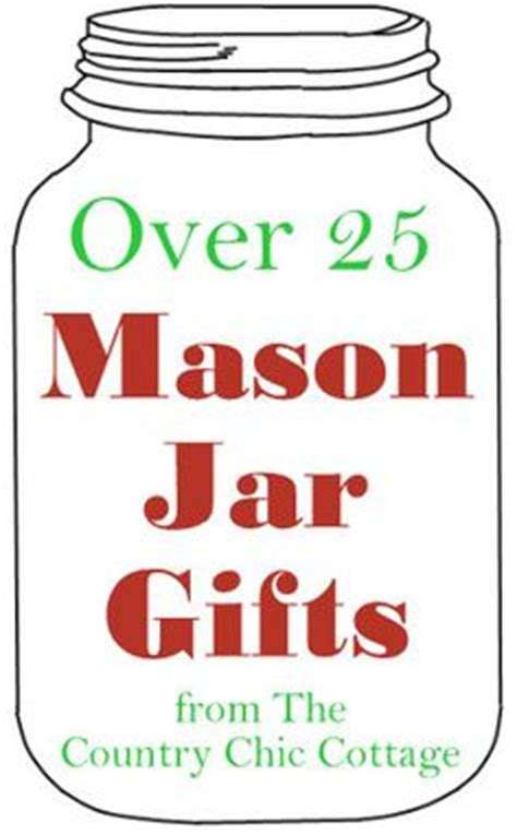 gifts for the cottage gifts in a jar on jar gifts country