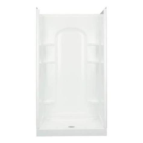 42 Inch Shower Stall by Sterling Ensemble 34 In X 42 In X 75 3 4 In Curve
