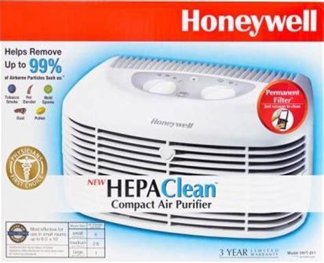 honeywell hht  hepaclean compact air purifier