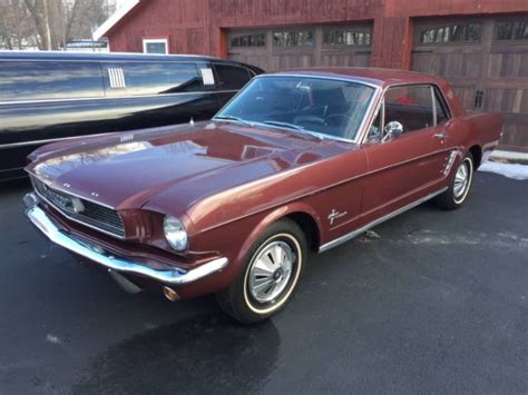 1966 ford mustang 3speed manual 6 cylinder for sale ford
