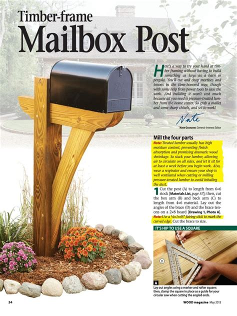 cast stone mailbox post kit mailbox post