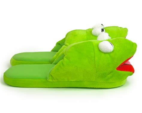 kermit the frog slippers kermit the frog slippers kermit slippers muppet slippers
