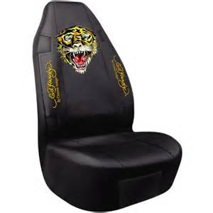 Seat Cover In Ed Hardy Seat Cover Tiger Seat Protector