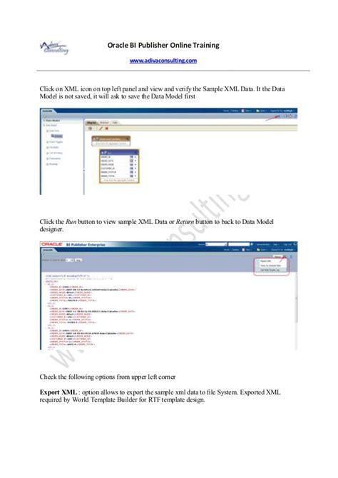 bi publisher resume template builder 28 images general