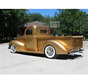 1940 Ford Pickup Of George Poteet By FastLane Rod Shop  Rear And Side