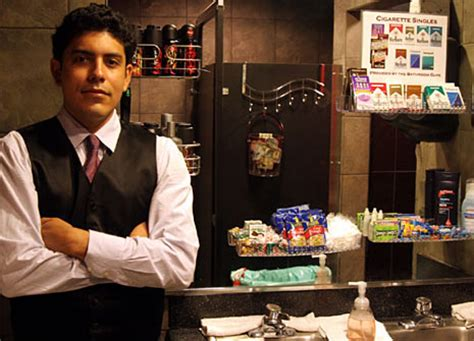bathroom attendants how strip clubs can improve from the customers