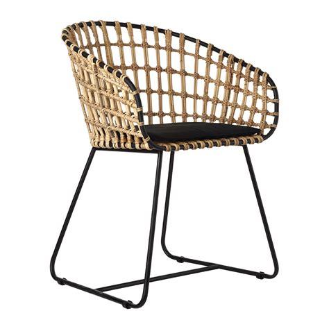 black chair rattan seat buy pols potten tokyo chair rattan amara