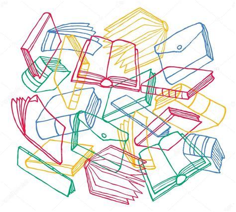 inicio libros de dibujos animados vector de stock textura de libros de dibujos animados como tel 243 n de fondo