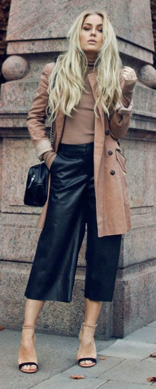 Ginar Cullote 25 best ideas about leather culottes on wide wide leg cropped and