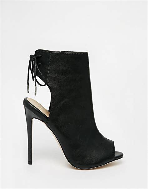 asos asos east town peep toe shoe boots at asos