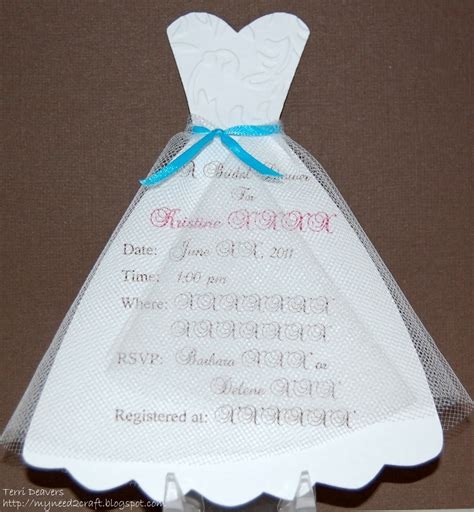 wedding dress template for cards diy bridal shower invitations diy bridal shower