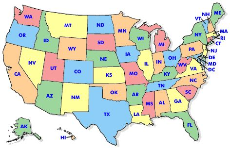 us map outline with state abbreviations us map abbreviations my