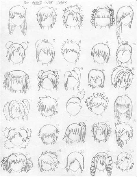 anime hairstyles ideas how to draw anime hair steps ideas from women