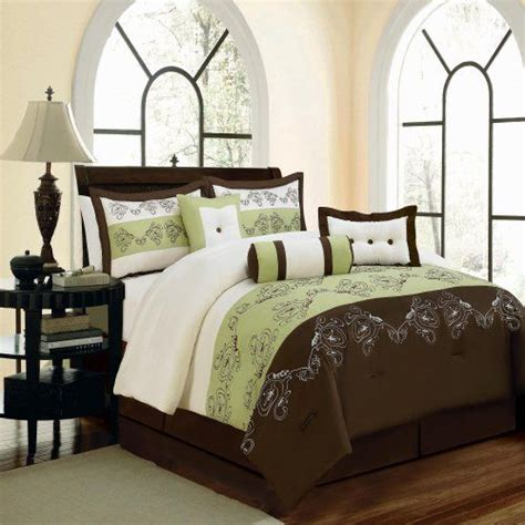 green and brown bedding 17 best images about master bedroom bedding on pinterest