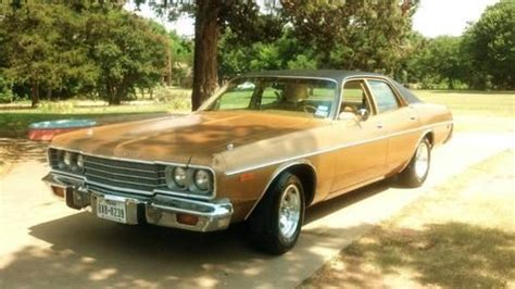 1974 dodge sedan for sale find used 1974 dodge coronet custom sedan 4 door 5 2l in