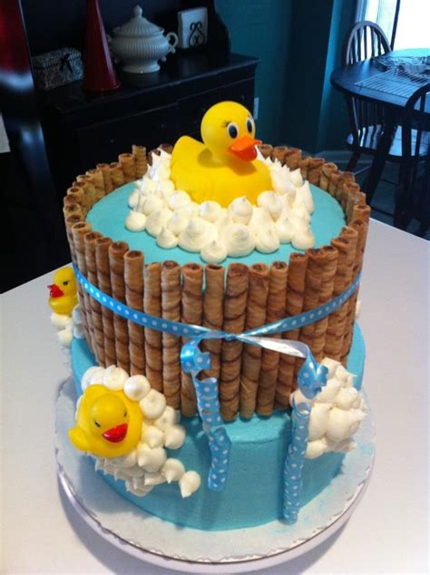 Baby Shower Duck Cakes by Duck Cake So Rubber Duck Theme Baby Shower