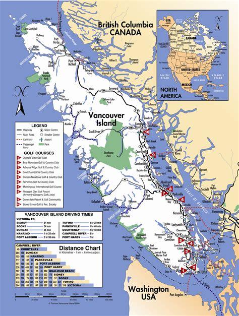 printable bc road map vancouver island road map my blog