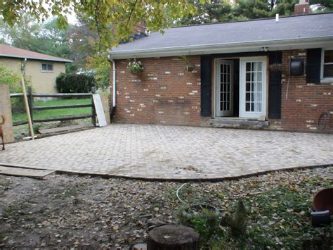 cost of diy paver patio chez v tales from the projects diy paver patio pond